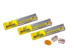 3 x Power Health Bach Rescue Plus Καραμέλες για τη Διαχείρηση του Στρες, με γεύση πορτοκάλι, 3 x 10 lozenges