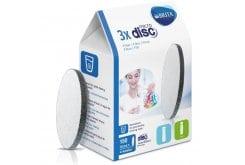 Brita MicroDisc Filter Ανταλλακτικό Φίλτρο Νερού, 3 τεμάχια