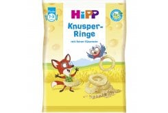 Hipp Baby Crispy Cheese Rings from the 12th Month, 25gr