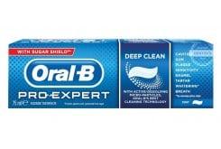 Oral-B Pro Expert Deep Clean, Οδοντόκρεμα για Βαθύ Καθαρισμό με γεύση μέντας, 75ml