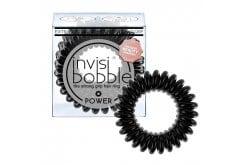 Invisibobble POWER Λαστιχάκια Μαλλιών για πολύ δυνατά πιασίματα μαλλιών, 3 τεμάχια - True Black