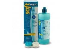 NOVAsoft Aqua Υγρό Φακών Επαφής, σφραγίζει την υγρασία, εμποδίζει τα βακτήρια, με προβιταμίνη B5 και Sorbitol, 360ml