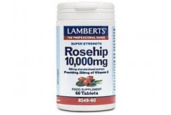 Lamberts Vit C Rose hip 10000μg 60tabs