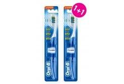 OralB Pulsar Οδοντόβουρτσα Medium με Δονούμενες Ίνες (1+1 ΔΩΡΟ), 2 τεμάχια