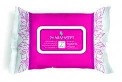 """Εικόνα του """"Pharmasept Care & Effect - Tol Velvet Hygienic Wet Wipes, for intimate areas, 30 τεμάχια """""""