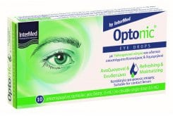 Intermed Optonic Drops Ophthalmic Drops, 10 ampules