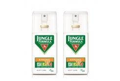 Jungle Formula Strong Soft Care (1+1 ΔΩΡΟ) Αντικουνουπικό spray με καταπραϋντικά συστατικά, 2 x 75ml