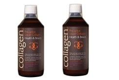 2 x Collagen Pro Active Liquid Collagen Γεύση Φράουλα, 500 ml & ΔΩΡΟ 100 ml Επιπλέον Ποσότητα, 2 x 600 ml