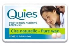 Pharmaq Quies Earplugs Pure Wax Ωτοασπίδες μιας Χρήσης από Φυσικό Κερί, 2 ζευγάρια