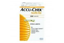 """Εικόνα του """"Accu chek Softclix, βελόνες SoftClix οι οποίες χρησιμοποιούνται με τον μετρητή Accu-Chek Aviva, 100 lancets"""""""