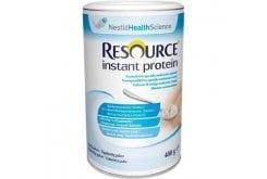 Nestle Resource Instant Protein Πρωτεϊνούχο Συμπλήρωμα Διατροφής σε μορφή σκόνης, με ουδέτερη γεύση & οσμή, 400gr