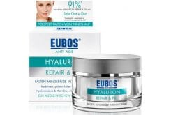Eubos Anti Age Hyaluron Repair Filler Day Wrinkle-reducing intensive cream for day care, 50ml