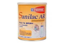 Zoom Γιώτης Sanilac AR 400g, Sanilac AR, due to its specifically designed composition, considerably contributes to the relief of regurgitation (reflux)
