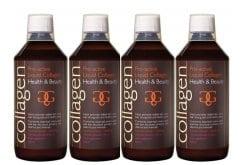 """Εικόνα του """"4 x Collagen Power Pro Active Liquid Collagen γεύση λεμόνι, 4 x 500 ml & ΔΩΡΟ 100 ml Επιπλέον Ποσότητα"""""""
