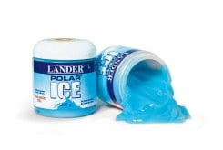 Lander Polar Ice Gel Μπλε Ζελέ Για Τους Πόνους, 227 gr