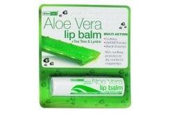 Optima Aloe Vera Lip Balm, 4 gr