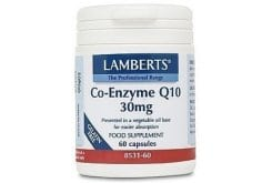 LAMBERTS CO-ENZYME Q10 30MG, 60 caps