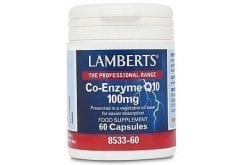 "Εικόνα του ""LAMBERTS CO-ENZYME Q10 100MG, 30 caps """