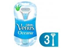Gillette Venus Oceana Γυναικεία Ξυραφάκια μιας χρήσης, 3 τεμάχια