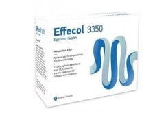 Epsilon Health Effecol 3350 Οσμωτικό Υπακτικό για την Αντιμετώπιση της Περιστασιακής & Χρόνιας Δυσκοιλιότητας, 12 sachets x 13.3gr