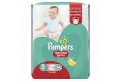 Pampers Pants Value Pack No.3 (Midi) 6-11 kg Βρεφικές Πάνες Βρακάκι, 19 τεμάχια