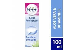 Veet Hair Removal Cream Legs & Body Sensitive Skin, 100ml