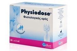 Physiodose Στείρος φυσιολογικός ορός σε αμπούλες μιας δόσης, για τη ρινική και οφθαλμολογική υγιεινή, 30x5 ml