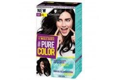 Schwarzkopf Pure Color Βαφή Μαλλιών 1.0 Vinyl Black, 1 τεμάχιο