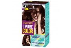 Schwarzkopf Pure Color Βαφή Μαλλιών 3.68 Vamp Brown, 1 τεμάχιο