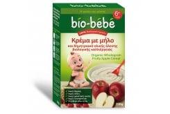Bio Bebe Κρέμα με Μήλο & Δημητριακά Ολικής Άλεσης , 200 gr