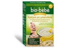 """Εικόνα του """"Bio - Bebe Κρέμα με Μπανάνα και Δημητριακά Ολικής Άλεσης, 200 gr """""""