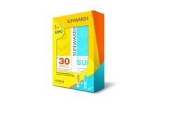 """Εικόνα του """"Synchroline Sunwards Face Cream for Sensitive Skins SPF 30, Αντιηλιακή κρέμα προσώπου, Υψηλής προστασίας, για ευαίσθητες και δυσανεκτικές επιδερμίδες, για την προστασία του προσώπου από την υπεριώδη ακτινοβολία (UVA-UVB), 50 ml & ΔΩΡΟ SUNWARDS After Sun F"""""""