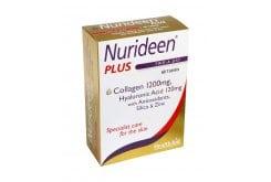 """Εικόνα του """"HealthAid Nurideen Plus, Ειδική φροντίδα για το δέρμα, Θαλάσσιο Κολλαγόνο με Υαλουρονικό οξύ & βιταμίνες, 60tabs"""""""