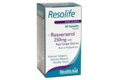 Health Aid Resolife, Resveratrol 250mg, 60 caps