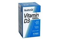 """Εικόνα του """"Health Aid Vitamin D3 1000i.u, 30 tabs """""""