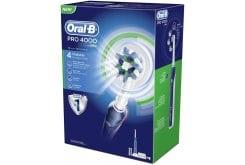 OralB Pro 4000 Επαναφορτιζόμενη Ηλεκτρική Οδοντόβουρτσα 3D, 1 τεμάχιο