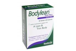 Health Aid BODYLEAN CLA Plus CoQ10, Amino Acids, Green Tea, 30 caps & 30 tablets
