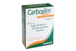Health Aid CarboSlim Phase 2, Green Tea & Chromium, 60 κάψουλες