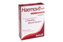 Health Aid HAEMOVIT PLUS, 30caps