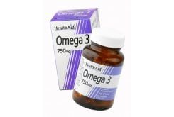 Health Aid ΟMEGA 3 Fish Oil 750 mg, 60 κάψουλες