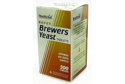 Health Aid BREWERS YEAST 300mg, 500 tablets