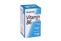 Health Aid VITAMIN B6 PYRIDOXINE one a dαy, 90 ταμπλέτες
