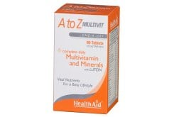 Health Aid A to Z MULTIVIT MINERALS PLUS Lutein, 90 ταμπλέτες