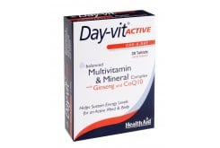 "Εικόνα του ""Health Aid Day-Vit Active CO Q10 & Ginseng, 30 tablets """