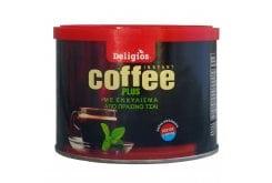 Deligios Coffee Plus Ρόφημα στιγμιαίου καφέ με Κατεχίνες, 100gr