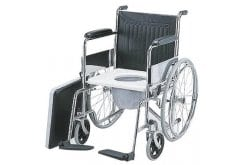 ADCO Folding Wheelchair with Toilet Seat