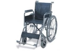 ADCO Folding Wheelchair with Detachable Armre