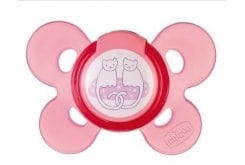 Chicco Physio Comfort Active Silicone 6-12m Pink, 1 pc