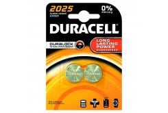 Duracell CR2025 3V Lithium, Μπαταριες ,2τεμ, Κατάλληλες για τις συσκεύες μετρήσεως σακχάρου, χοληστερίνης, τριγλυκεριδίων.