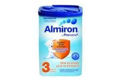 Nutricia Almiron 3, Γάλα σε σκόνη για μωρά 10+ μηνών (10-36 μηνών), αποτελεί μια πλήρη, θρεπτική και ισορροπημένη πρόταση μετά το γάλα 2ης βρεφικής ηλικίας , 800gr